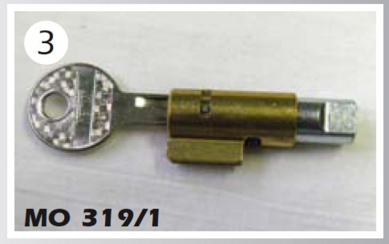 Lenkschloß für RD250/350LC, Typ 4L1/4L0