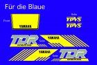 TDR250 kompl. Dekorsatz
