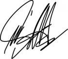 Aufkleber Marco Simoncelli Signatur