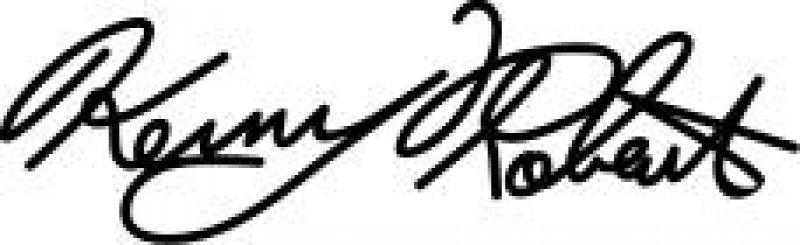 Aufkleber Kenny Roberts Signatur