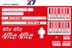 """Casey Stoner"" Dekor für Ducati"
