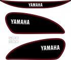 YAMAHA SR500 Dekor schwarz