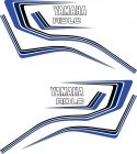 RD 80LC Dekor, 3-farbig blau #04
