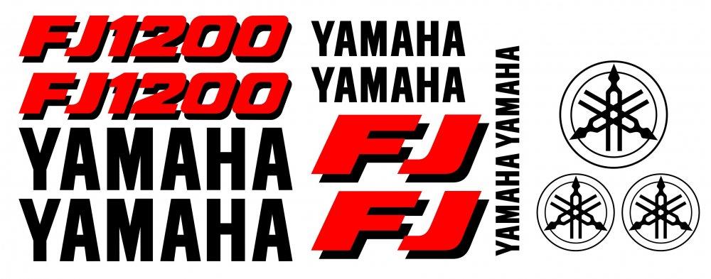 FJ1200 Dekorsatz