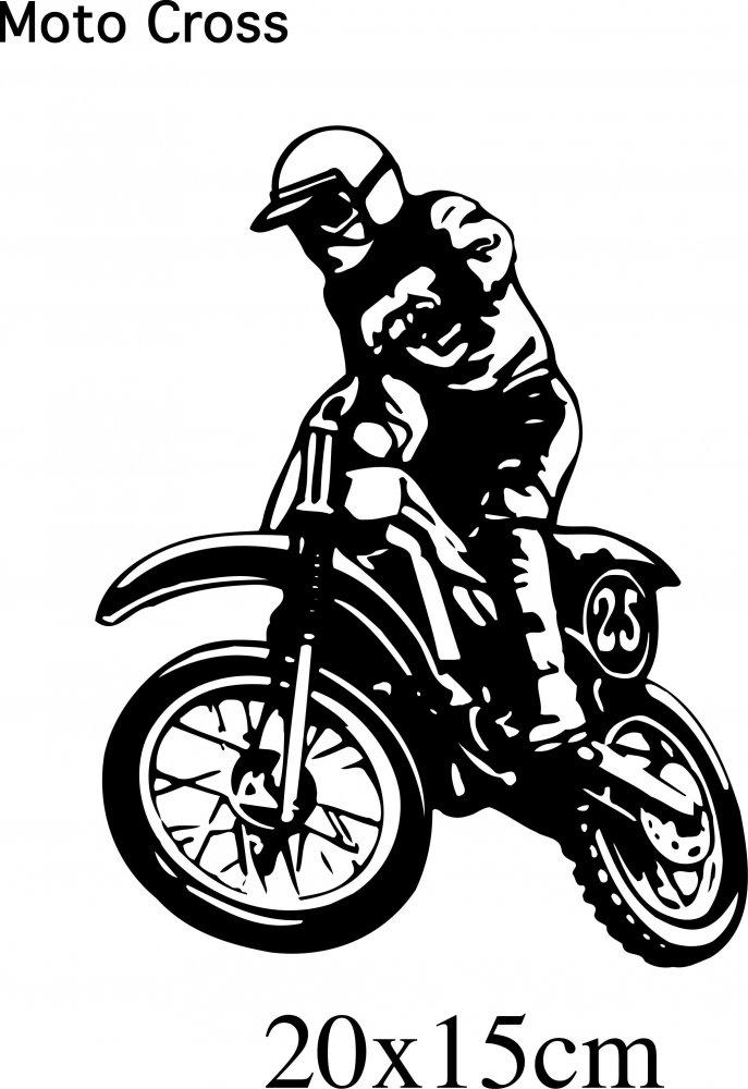Moto Cross - Springender Crosser *