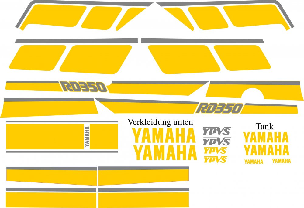YPVS Dekor im Kenny Roberts Style #3b